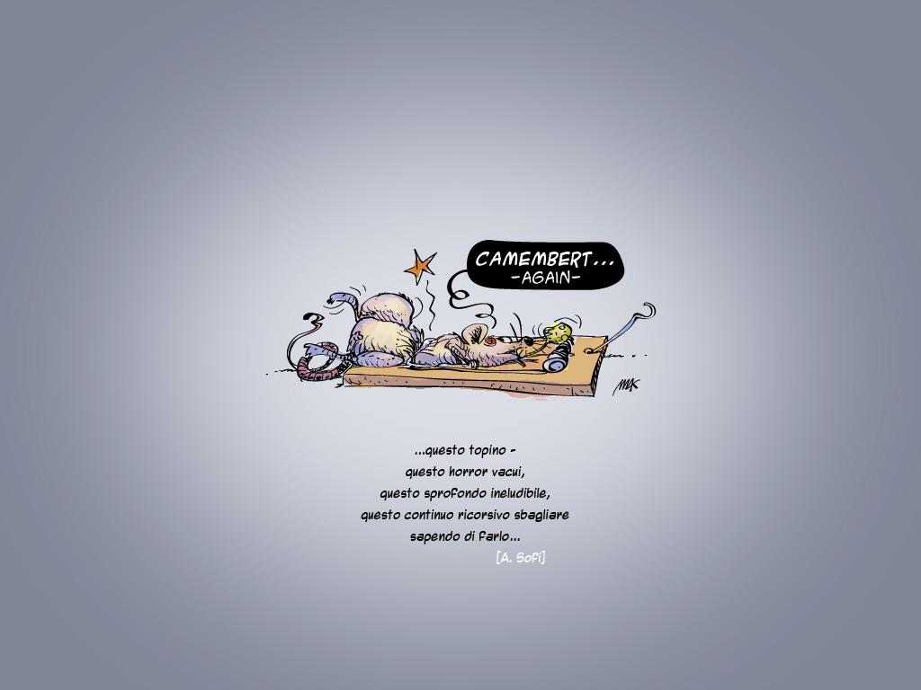 Effetto Camembert Due Sfondi Desktop Di Makkox